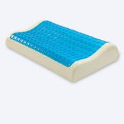 PU gel memory foam pillow